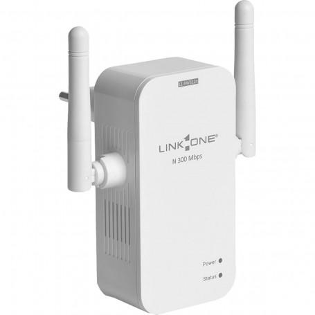 Roteador Wireless com 2 Antenas Link One L1-RW312N 300Mbps