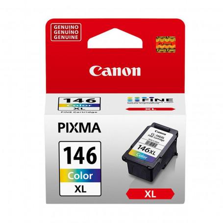 Cartucho de Tinta Canon CL-146XL CL146XL Colorido   Original 13ml