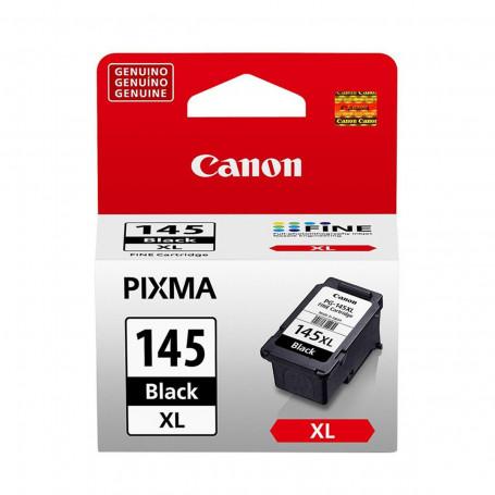 Cartucho de Tinta Canon PG-145XL PG145XL Preto   Original 12ml