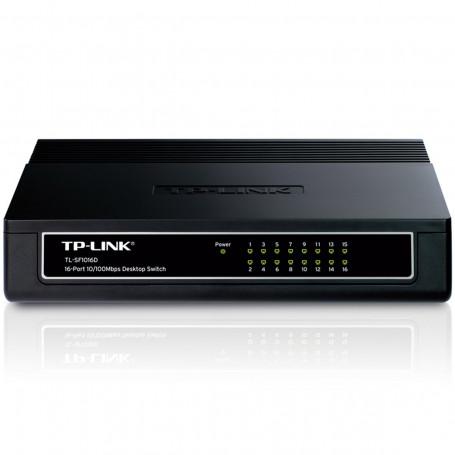 Switch TP-LINK TL-SF1016D 100Mbps com 16 portas