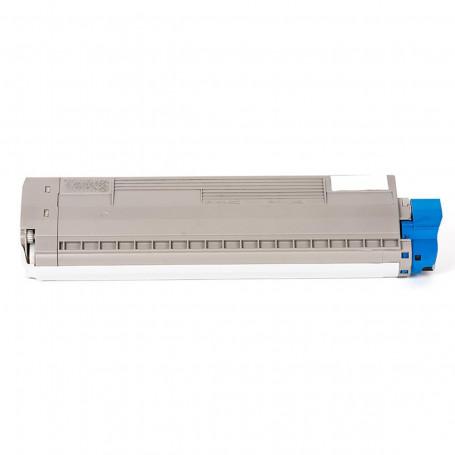 Toner Okidata C831 C831N 831 831N Ciano 44844511 | Compatível Importado 10k