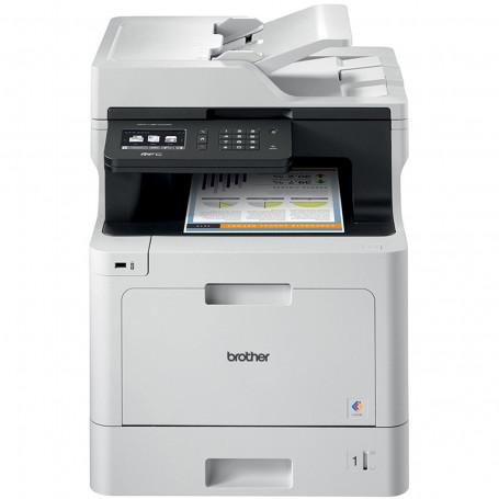 Impressora Brother MFC-L8610CDW Multifuncional Laser Colorida com Wireless e Duplex