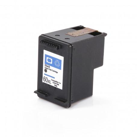 Cartucho de Tinta Compatível com HP 60XL 60 Preto CC641WB | C4680 C4780 D1660 F4280 F4580 F4480 14ml
