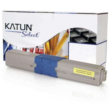 Toner Okidata 469701 Amarelo   C330 C510 C530 MC361 MC362 MC561 MC562   Katun Select 3k