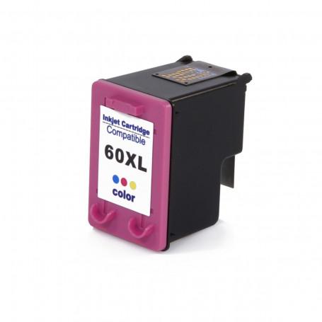 Cartucho de Tinta Compatível com HP 60XL 60 Color CC644WB | F4480 F4580 F4280 D1660 C4780 C4680 10ml