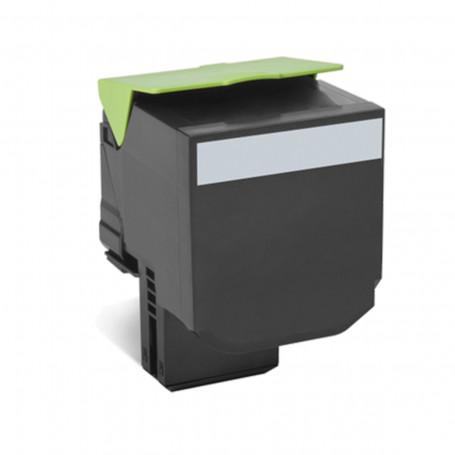 Toner Lexmark CX510 CX510de CX510dhe Preto | 80C8XK0 | Original 8k