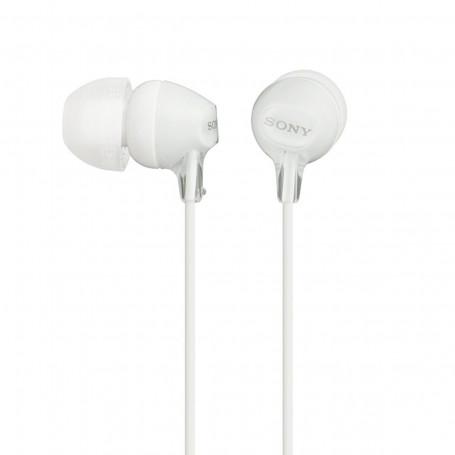 Fone de Ouvido Headphone Intra-Auricular MDR-EX15LP Branco | Sony