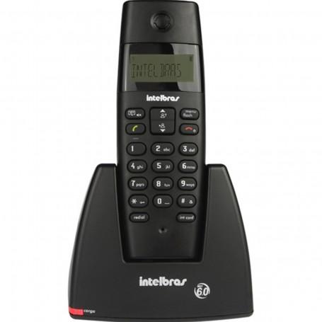 Telefone Sem Fio Intelbras TS 40 com ID | Preto