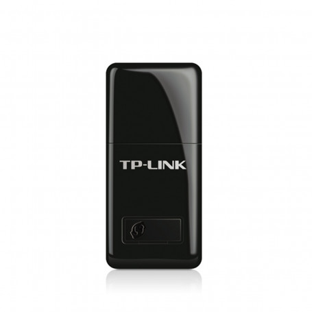 Mini Adaptador de Rede Wireless TP-LINK TL-WN823N Entrada USB 300Mbps