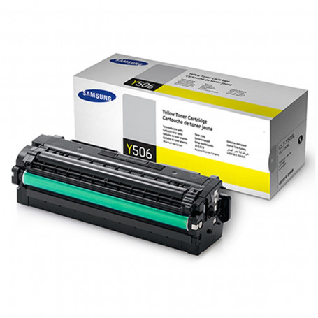 Toner Samsung CLT-Y506L Amarelo | CLX6260FR CLP680ND | Original 3.5k