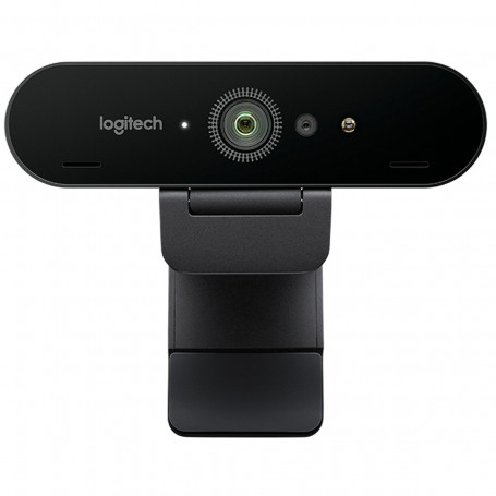 Webcam USB Com Cabo Ultra HD 4K Logitech BRIO 960-001105 | Preto
