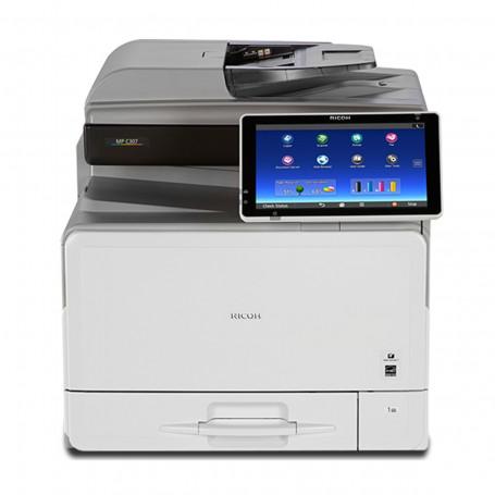 Impressora Ricoh MP C307 MPC307 | Multifuncional Laser Colorida com Rede e Duplex