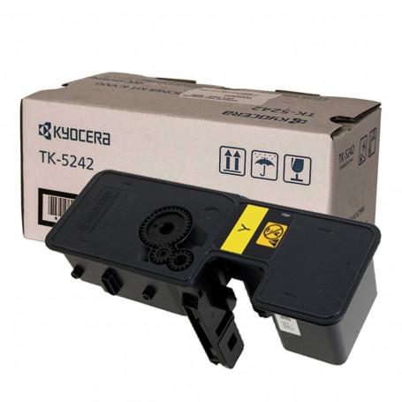 Toner Kyocera TK 5242Y Amarelo | M5526CDW P5026CDN M5526 P5026 5526 5026 | Original 3k