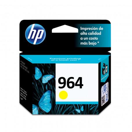 Cartucho de Tinta HP 964 Amarelo 3JA52AL | 9010 9020 | Original