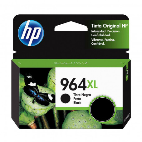 Cartucho de Tinta HP 964XL 3JA57AL Preto | 9010 9020 | Original