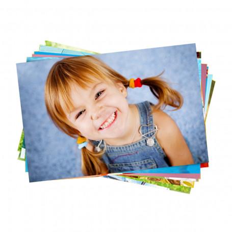 Papel Fotográfico Glossy Brilhante   180g tamanho A4   Pacote com 50 folhas