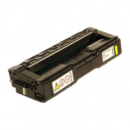 Toner Compatível com Ricoh SP C232YT C252HA Amarelo   SPC232 SPC230 SPC242 SPC252   6.000 páginas