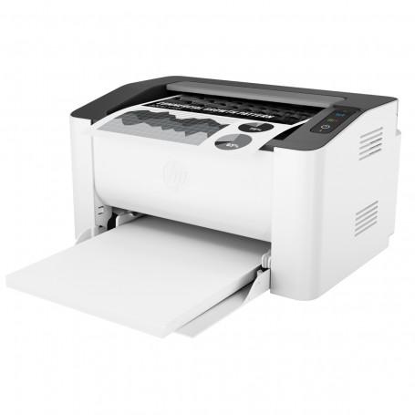 Impressora HP LaserJet 107W 4ZB78A com Conexão USB e Wireless