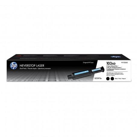 Toner HP 103AD W1103AD W1103AE | Neverstop 1200W 1200 1000A 1000W 1000N | Pacote Duplo | Original 5k