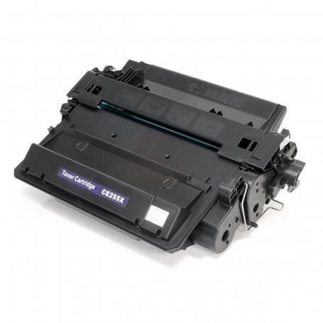 Toner Compatível com HP CE255X CE255XB | P3015N P3015D P3015DN P3015X M525F | Premium 10k