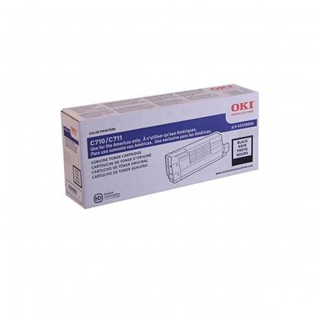 Toner Okidata Preto   C711 C711N   44318604   Original 11k