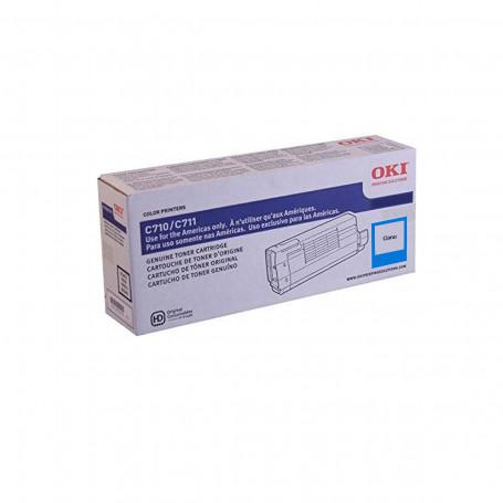 Toner Okidata Ciano   C711 C711N C711WT   44318603   Original 11.5k
