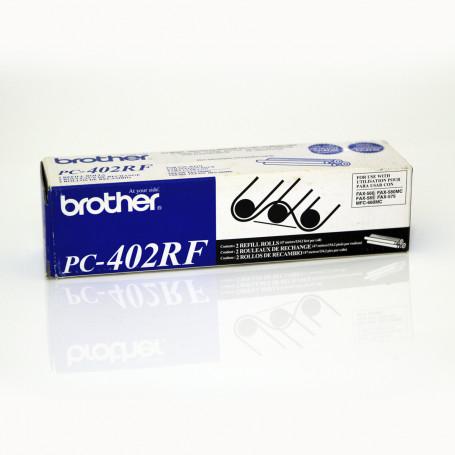 Filme para FAX Brother PC-402RF PC402 para PC-401 ou PC-501   2 Rolos   FAX-560 FAX-565   Original