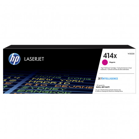Toner HP W2023X 414X Magenta | M454DW M454DN M479FDW M479DW M479FDN | Original 6k
