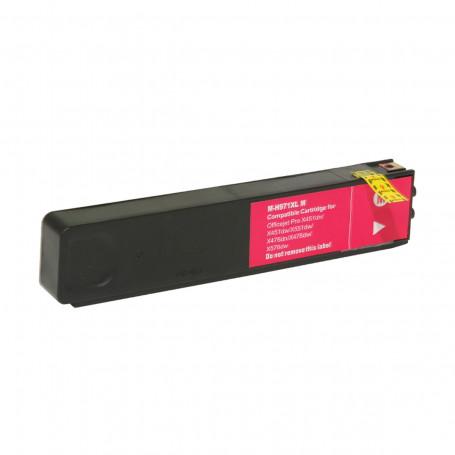 Cartucho de Tinta Compatível com HP 971XL CN623AM Magenta | X451DW X476DW | 70ml