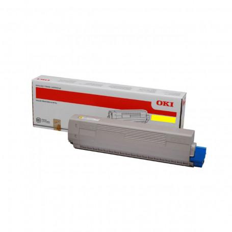Toner Okidata Amarelo   ES8473   45862824   Original 10k
