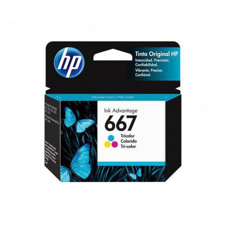 Cartucho de Tinta HP 667 Color 3YM78L 3YM78AL   Deskjet Ink Advantage 2776   Original