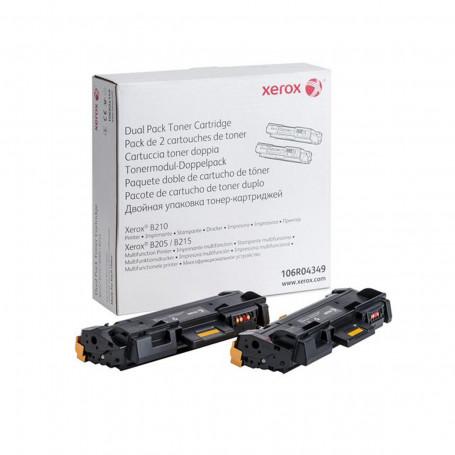 Toner Xerox B205 B210 B215   106R04349   106R04349NO Duplo Original 6k