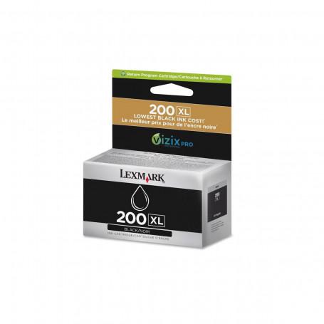 Cartucho de Tinta Lexmark 200XL 14L0174 Preto   Pro 5500 Pro 5500T Pro 4000   Original 82,5ml