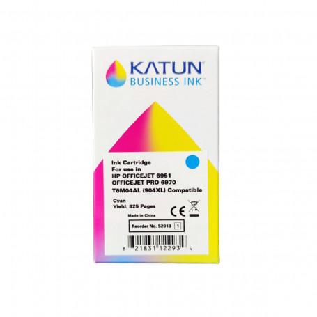 Cartucho de Tinta Compatível com HP 904XL T6M04AL Ciano   Officejet Pro 6970   katun Business Ink