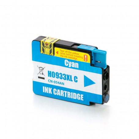 Cartucho de Tinta Compatível com HP 933XL Ciano CN054AN   Officejet 7110 7612   Katun Business Ink