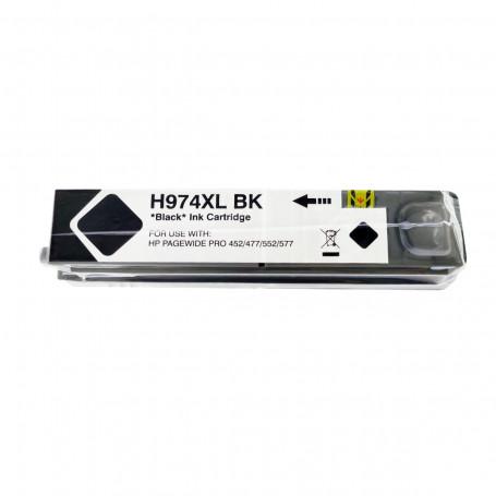 Cartucho de Tinta Compatível com HP 974XL L0S08AL Preto   452DN 477DW 552DW   Katun Business Ink