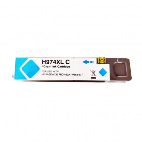 Cartucho de Tinta Compatível com HP 974XL L0R99AL Ciano   452DN 477DW 552DW   Katun Business Ink