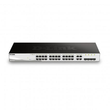 Switch D-LINK DGS-1210-28 1000Mbps com 24 Portas