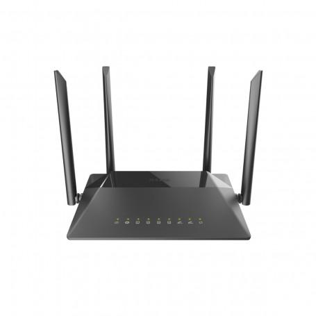 Roteador Wireless com 4 Antenas D-Link DIR-842 AC1200 TR-069   300Mbps + 867 Mbps