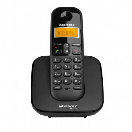 Telefone Sem Fio Digital Intelbras TS 3110 | Preto