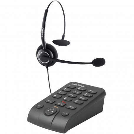 Telefone Headset Intelbras HSB 50 | Preto