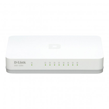 Switch D-LINK DGS-1008A 200mbps com 08 Portas