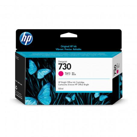 Cartucho de Tinta HP 730 Magenta P2V63A | Plotter HP T1600 T1700 | Original 130ml