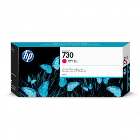 Cartucho de Tinta HP 730 Magenta P2V69A | Plotter HP T1600 T1700 | Original 300ml