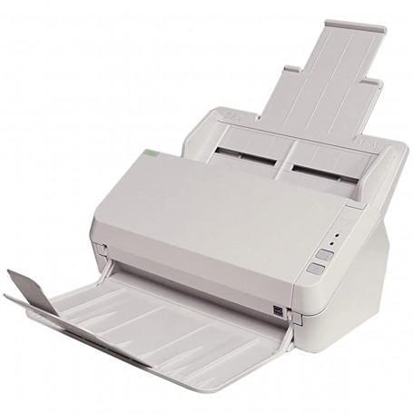 Scanner Fujitsu ScanZen EKO 20 ppm | Conexão USB Até Tamanho A4 ADF para 50 Folhas com Duplex
