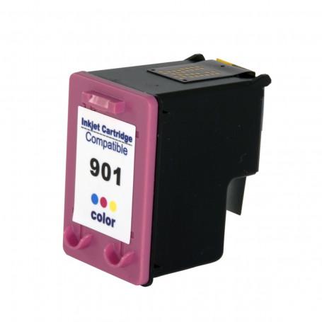 Cartucho de Tinta Compatível com HP 901XL 901 CC656AB Colorido | J4580 J4680 J4660 J4500 J4550 12ml