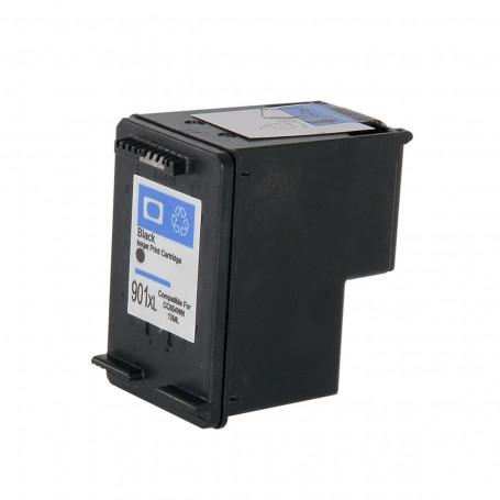 Cartucho de Tinta Compatível com HP 901XL 901 CC654AL CC654AB CC653AB Preto | Officejet J4660 12ml