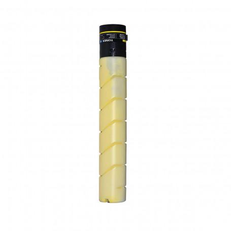 Toner Compatível com Konica Minolta TN-321Y TN321 Amarelo | Bizhub C224 C284 C364 | Importado 25k