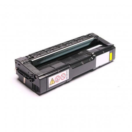 Toner Compatível com Ricoh Amarelo   C250FW C301W   Importado 6.3k
