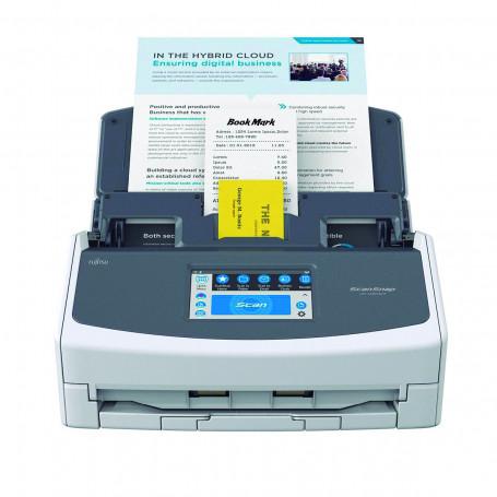 Scanner Fujitsu ScanSnap iX1600 iX-1600 | Conexão Wi-Fi Até Tamanho A4 ADF para 50 Folhas